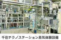 千住テクノステーション蒸気体験設備